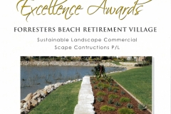 2015 LNA Award - Forresters - Sustainable Landscape