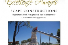 2016 LNA Award - Highbrook Park - Commercial Playground